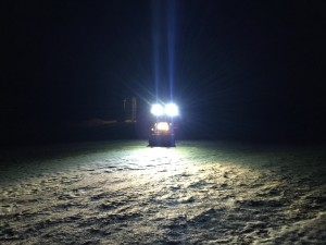 Headlights Plus ROPS Lights Front View