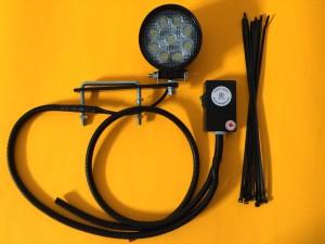 ROPS Lights Single LED Kubota Worklight Kit